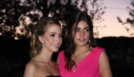 Faustina Villarreal y Ana Lucía Díaz Infante.