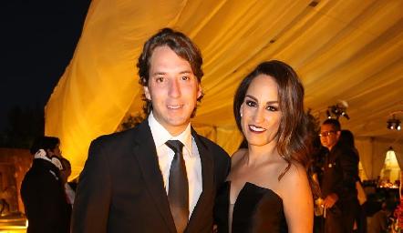 Daniel Enríquez y Gloria Leal.