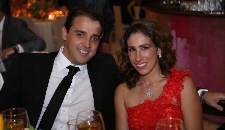 Oscar Valle y Nina Benabib.