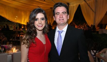 Fernanda González y Julio Galindo.