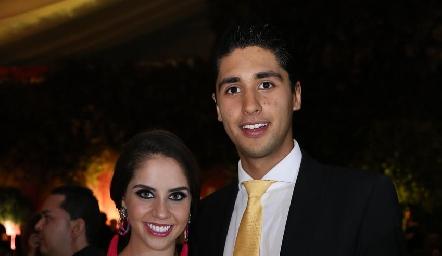 Pía Gómez y Andrés Tobías.
