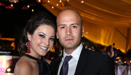 María José Trigo y Luis Chávez.