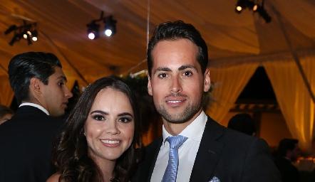 María José Valle y José Contreras.