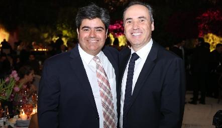 Francisco Leos y Alejandro Navarro.
