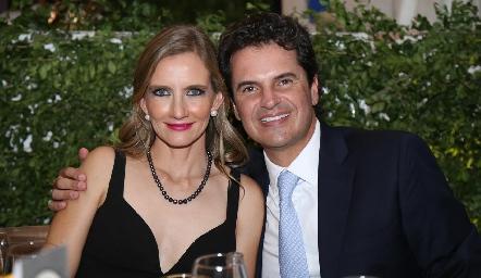 Isabel Martí y Eduardo Gómez.