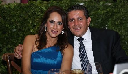 Mariza Calderón y César Espinosa.