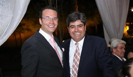 Xavier Nava y Francisco Leos.