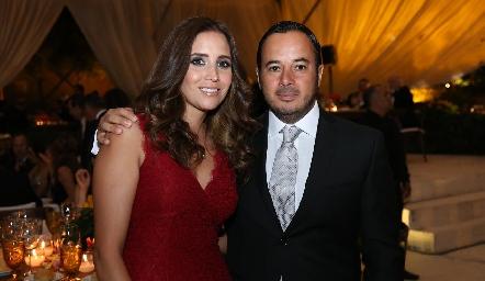 Ana Luisa Díaz de León y Alejandro Stevens.