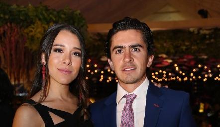 Michelle Cano y Guillermo Gómez.