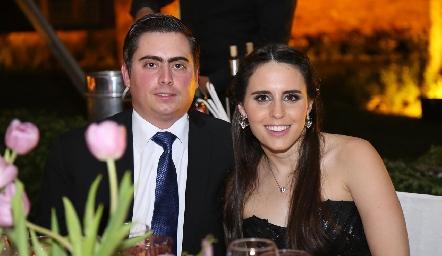 Jaime Oliva y Luciana Rodríguez.
