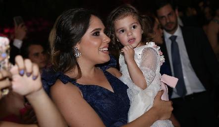 Sofía Ascanio y Marina.