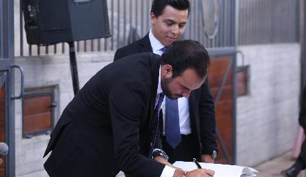 Rodrigo Alcalde.