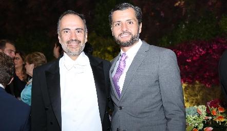Marcelo y Carlos de los Santos.
