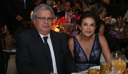Miguel Mendoza y Carmen Bustos.