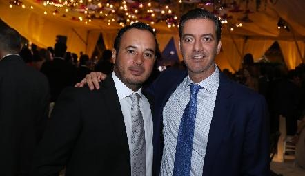 Alejandro Stevens y Marcelo Galán.
