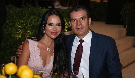Marily y Javier Tobías.