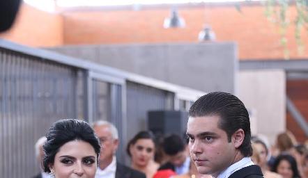 Daniela y Santiago.