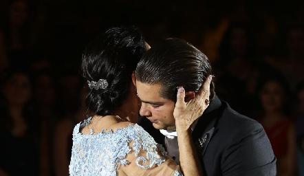 Santiago Rosillo y Teresa del Pozo.