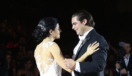 Daniela de los Santos y Santiago Rosillo.