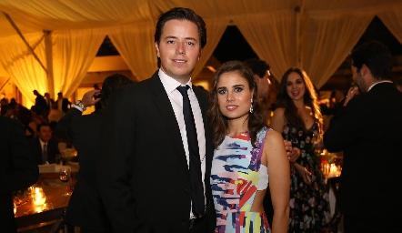 Pablo Herrera y Nuria Alcalde.