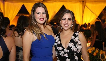 Lourdes y Paulina Robles.