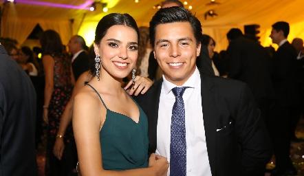 Montse Purata y Lisandro Bravo.