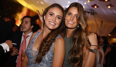 María Emilia Torre y Ana Victoria de la Rosa.