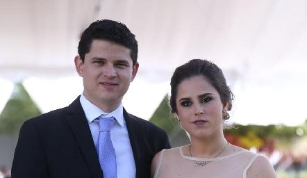 Víctor Paulín y Gaby Franco.