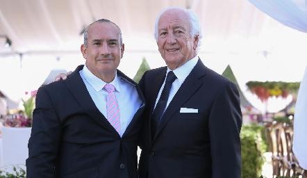 Mauricio Zendejas y Marcelo de los Santos.