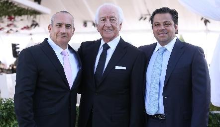 Mauricio Zendejas, Marcelo y Fernando de los Santos.