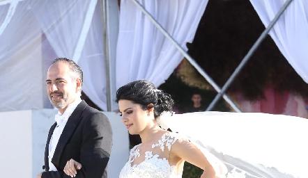 Marcelo y Daniela de los Santos.