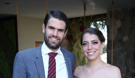 Pato Maurer y Silvia Guel.