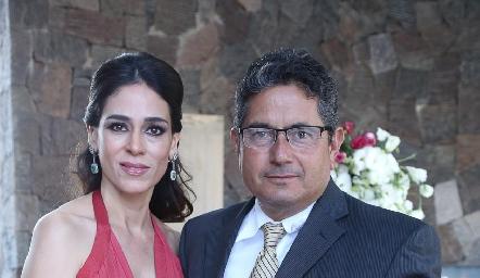 Maribel Lozano y Gerardo Rodríguez.