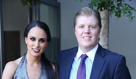 Natalia Leal y Manuel Zárate.