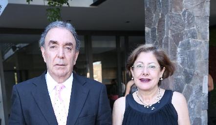 Gustavo y Nancy Puente.