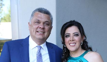 Ariel Álvarez y Mónica Nogués.