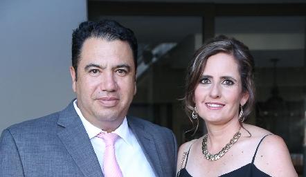 Roberto Silva y Marcela Payán.