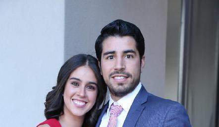 Natalia Navarro y José Manuel Lázaro.