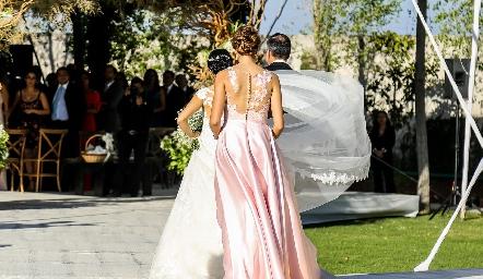 Entrada de la novia.