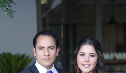 Edgar Zúñiga y Susana Cossío.