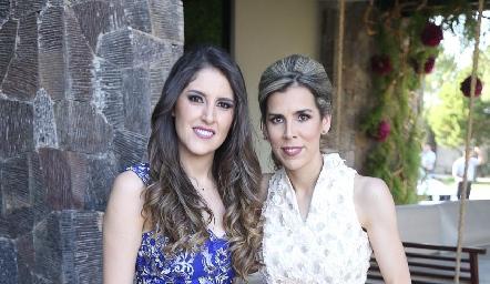 Fer Martínez y Sara Guzmán.
