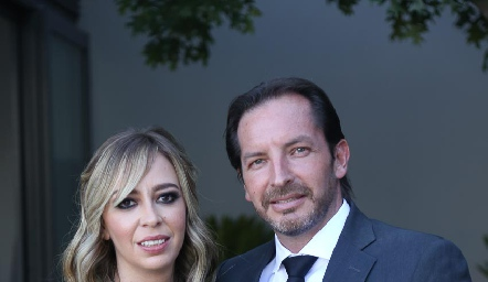 Sandra Rosillo y Luis Caballero.