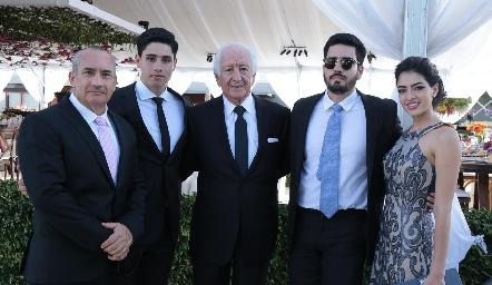 Familia de los Santos.