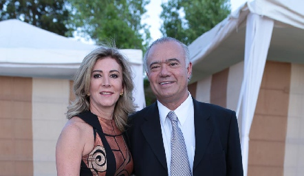 Ana y Manuel Lorca.