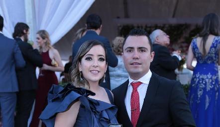 Isabel Albas y Jaime Salinas.