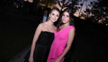 Faustina Villarreal y Analú Díaz Infante.