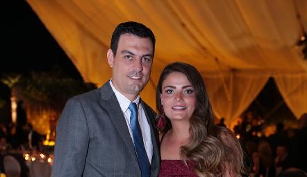 Alejandro Fernández y María Lorca.