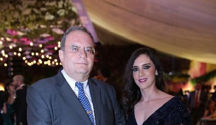 Alfonso y Hanna Martínez.