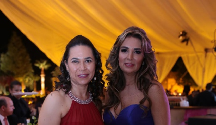 Brenda Lerma y Cristina Mexicano.
