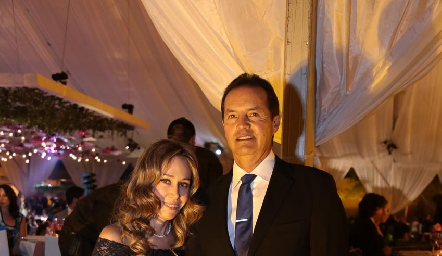 Roxana Orozco y Arturo González.